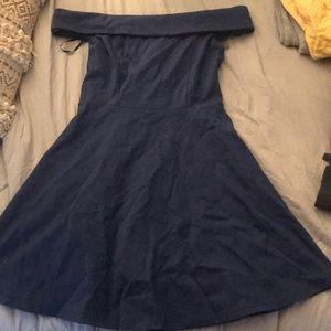 Lulus blue cocktail dress